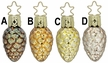 Seeds of Magnificiente Ornament by Inge Glas - $9 each