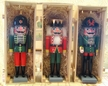Set of Three Exclusive Füchtner Nutcrackers for The Christmas Haus