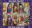 """""""Silent Night, Holy Night"""" Nativity Ornament Collection by Inge Glas"""