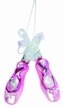 Simply Pink, Pair of Ballet Slippers Ornament by Inge Glas