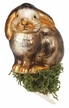 Sitting Bunny Clip On Ornament by Inge Glas