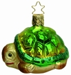 Slow and Steady Turtle Ornament by Inge Glas