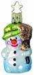 Smallest Snowman Ornament by Inge Glas