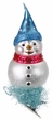 Snow Dot, Clip On Snowman Ornament by Inge Glas