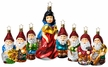 Life Touch Snow White, 8 Piece Ornament Set
