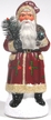 """""""Spectacular Santa"""" Paper Mache Candy Container"""