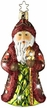 St. Nicholas Treasure - Life Touch Ornament encrusted with Swarovski Crystals by Inge Glas