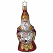 St. Nicholas Watching Over His Flock Ornament by Inge Glas