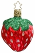 Sumptous Strawberry Ornament by Inge Glas
