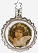 Sweet Thoughts, Angel on Reflector Ornament by Inge Glas
