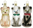 The Cat�s Meow Ornament by Inge Glas - $20 each