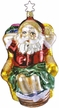 The Day After Christmas Santa Ornament by Inge Glas
