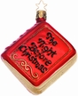"""""""The Night Before Christmas"""" Book Ornament by Inge Glas"""
