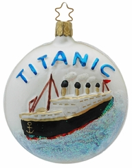 Titanic Ornament by Inge Glas