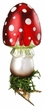 Toad's Stool Clip On Ornament by Inge Glas