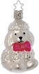 Toy Poodle Ornament by Inge Glas