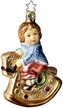 Toy Time, Boy on Rocking Horse - Life Touch Ornament by Inge Glas