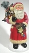 """""""Toys for All"""" Santa Paper Mache Candy Container"""