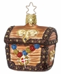 Treasures, Treasure Chest Ornament by Inge Glas