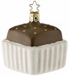Triple Chocolate Petit Fours Ornament by Inge Glas