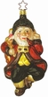 'twas the Night Before Christmas Santa Claus Ornament by Inge Glas