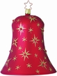 Twinkling Stars Bell Ornament by Inge Glas