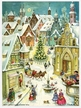 City with Fountain & Sleigh Advent Calendar published by Stuttgart-based Richard Sellmer Verlag