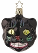 Up to No Good Halloween Cat Ornament by Inge Glas