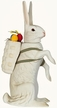 Very Special Easter Bunny Paper Mache Candy Container