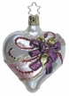 Victorian Heart Ornament by Inge Glas