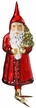 Vintage Nikolaus Clip On  - Life Touch Ornament by Inge Glas