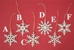 Snowflake Ornament by Kunstgewerbe Taulin in Seiffen - $4 Each