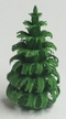"""2cm (3/4"""") Hand Carved Green Tree made in Germany"""