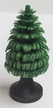 """4cm (1 1/2"""") Hand Carved Green Tree with Trunk"""
