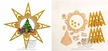 Make it Yourself Star Ornament Kit by Drechslerei Kuhnert