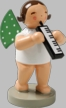 Angel with Melodica Wooden Figurine by Wendt and Kuhn