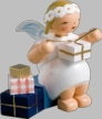Snowflake Angel with Gifts Wooden Figurine by Wendt und Kuhn