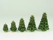 Assorted Sizes of Green Trees by Kunstgewerbe Lenk & Sohn GbR in Cranzahl