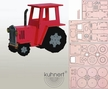 Make it Yourself Tractor Kit by Drechslerei Kuhnert