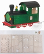Make it Yourself Train Engine Kit by Drechslerei Kuhnert