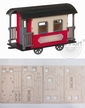 Make it Yourself Caboose Kit by Drechslerei Kuhnert