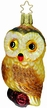 Watchful Eyes Owl Ornament by Inge Glas