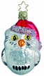 Whoo's Ready for Christmas, Owl Ornament by Inge Glas