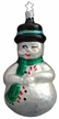 Winking Snowman Ornament by Inge Glas