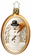 Winter Pose, Snowman Ornament by Inge Glas