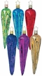 Winter's Rainbow Icicle Ornament by Inge Glas - $8.50 each
