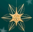 "Wooden Star Light Wall or Window Decoration by Martina Rudolph, 51 cm (20 1/4"")"