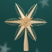 "Wooden Tree Topper by Martina Rudolph, 19 cm (7 1/2"")"