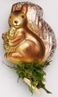 Woodlands Squirrel on Clip Ornament by Inge Glas