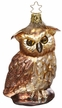 Woods Watch Owl Ornament by Inge Glas